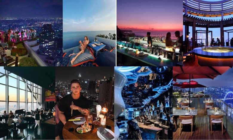 Best rooftop bars in Asia