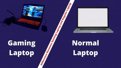 Photo of The Difference Between Gaming Laptop and Regular Laptop